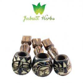 Classic Tagua pipe // handmade in Ecuador